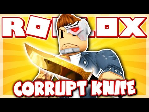 I GOT THE RAREST KNIFE IN MURDER MYSTERY 2!! *CORRUPT KNIFE!* (Roblox)