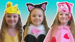 Dance Like Animal Song Nursery Rhymes Song for Kids by Lisa Kids Show
