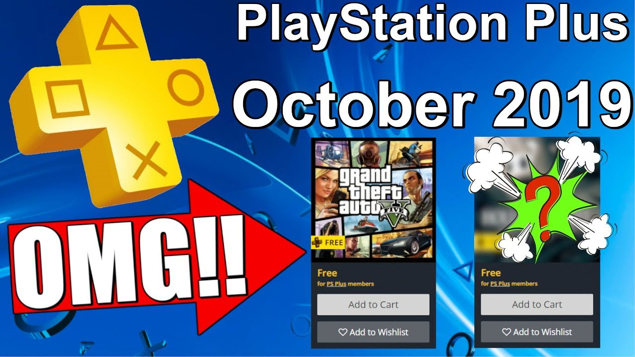 Ps Plus October 2019 Free Games Free Ps4 Games Next