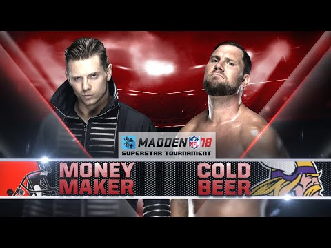 THE MIZ vs. CURTIS AXEL - Madden 18 Superstar Tournament Rd. 2  - Gamer Gauntlet