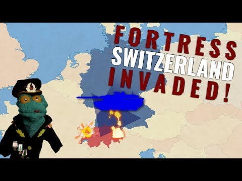 Can German Army conquer Switzerland?