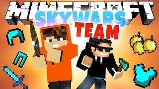 ПЕРВЫЕ НА ЦЕНТРЕ! [Minecraft Team SkyWars Mini-Game]