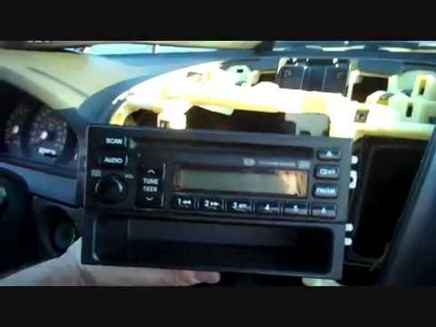 clarion wiring diagram ezgo gas golf cart how to kia sorento car stereo removal 2003 - 2006 repalace repair cd youtube