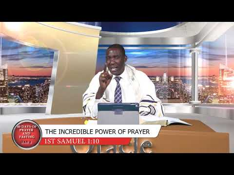 DAY 3 PRAYER AND FASTING DR ORACLE