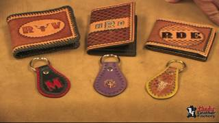 How To Use 3D And Alphabet Stamps On Leather