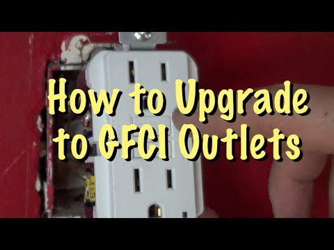 How To Upgrade To GFCI, GFI Or RDC Outlets