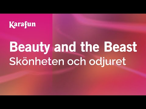 Karaoke Beauty and the Beast - Beauty And The Beast *