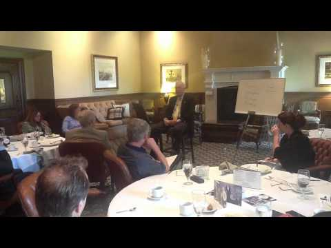 Dr. William Eickhoff Speaking On The 21 Laws Of Leadership Presentation Part 2