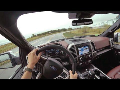 2018 Ford F-150 4x4 Supercrew 5.0L V8 10-Speed Auto - POV Driving Impressions (Binaural Audio)