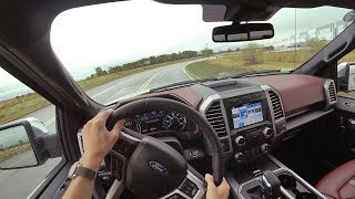 2018 Ford F-150 4x4 Supercrew 5.0L V8 10-Speed Auto - POV Driving Impressions (Binaural Audio)