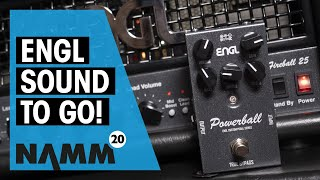 ENGL NAMM 2020 | New Fireball 25 and Powerball pedal | Thomann
