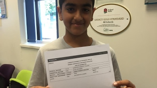 10 Year Old Kid Passes GCSE Maths In One Month