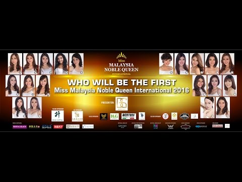 Miss Malaysia Noble Queen International Semi Final (Full Version)