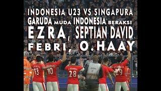 FRIENDLY MATCH   Indonesia U 23 vs Singapura   pes 2017