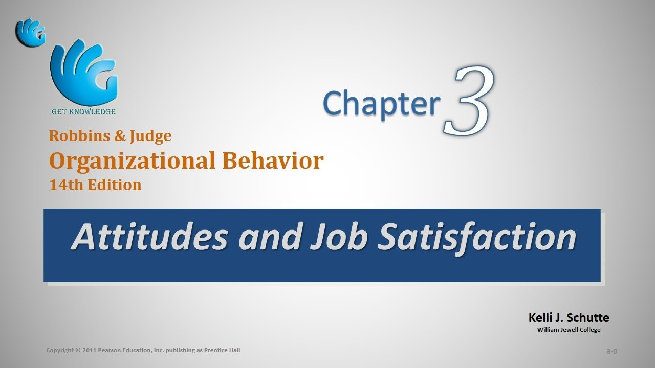 job satisfaction in organisational behaviour pdf