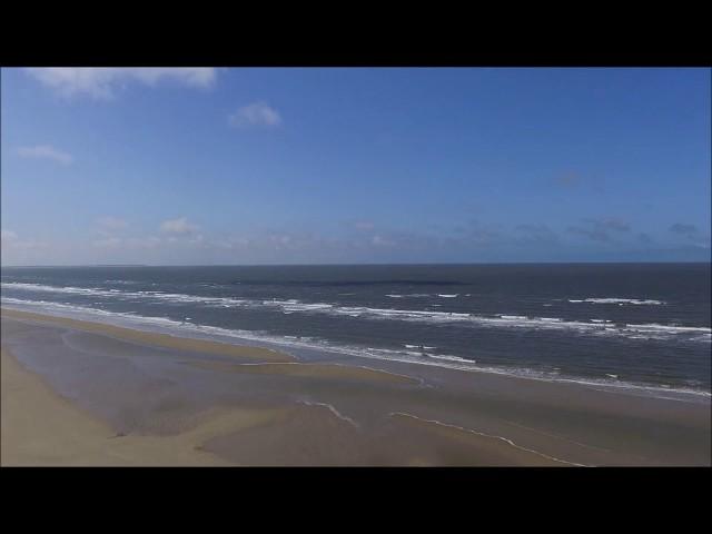 Roemoe - Lakolk Strand 360° Luftaufnahme
