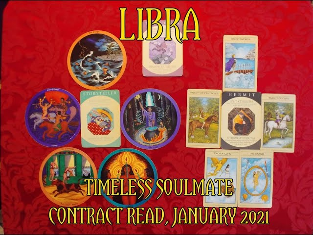 LIBRA: TIMELESS ROMANTIC SOULMATE READ = A STORYTELLER & A HERMIT CONTRACT = JANUARY 2021