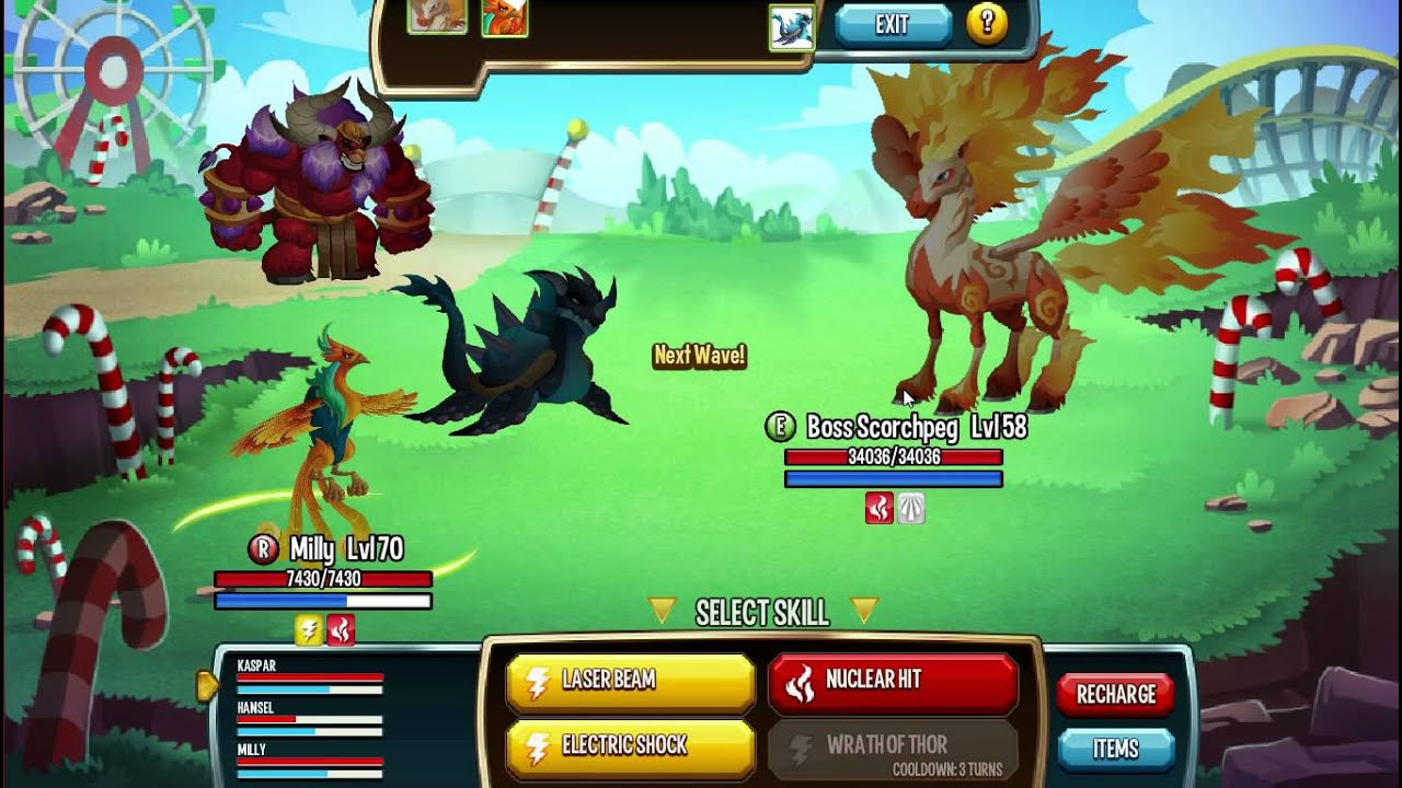 Monster legends roulette spin trick