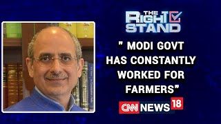 Modi Govt Has Constantly Worked For The Benefit Of Farmers Says BJP's Nalin Kohli |  The Right Stand