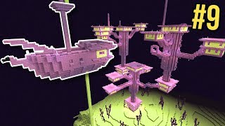 Minecraft: Nether Survival Let's Play Ep. 9 - Mega City