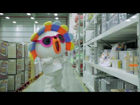 A Trip In Lazada Warehouse
