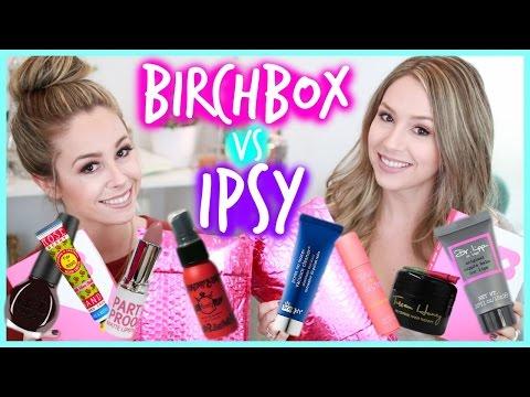 Unboxing: Birchbox vs. Ipsy - OCTOBER   eleventhgorgeous