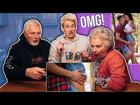 Thumbnail: MY PARENTS REACT TO MY MUSIC VIDEO! (Does Your Mama Know?)