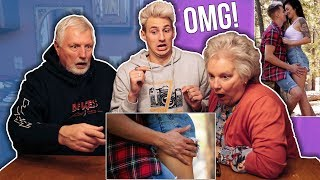 MY PARENTS REACT TO MY MUSIC VIDEO! (Does Your Mama Know?)