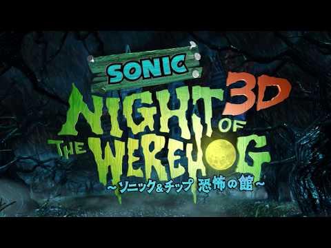 Sonic Night of the Werehog 3D