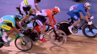 Men's Omnium  Elimination Race  2016 UCI Track Cycling World Championships