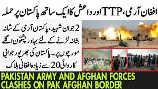 Pak Afghan clashes,pakhtoons from kurram Agency ready to fight