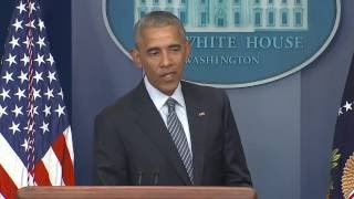 Obama on Trump Election: 'The People Have Spoken'
