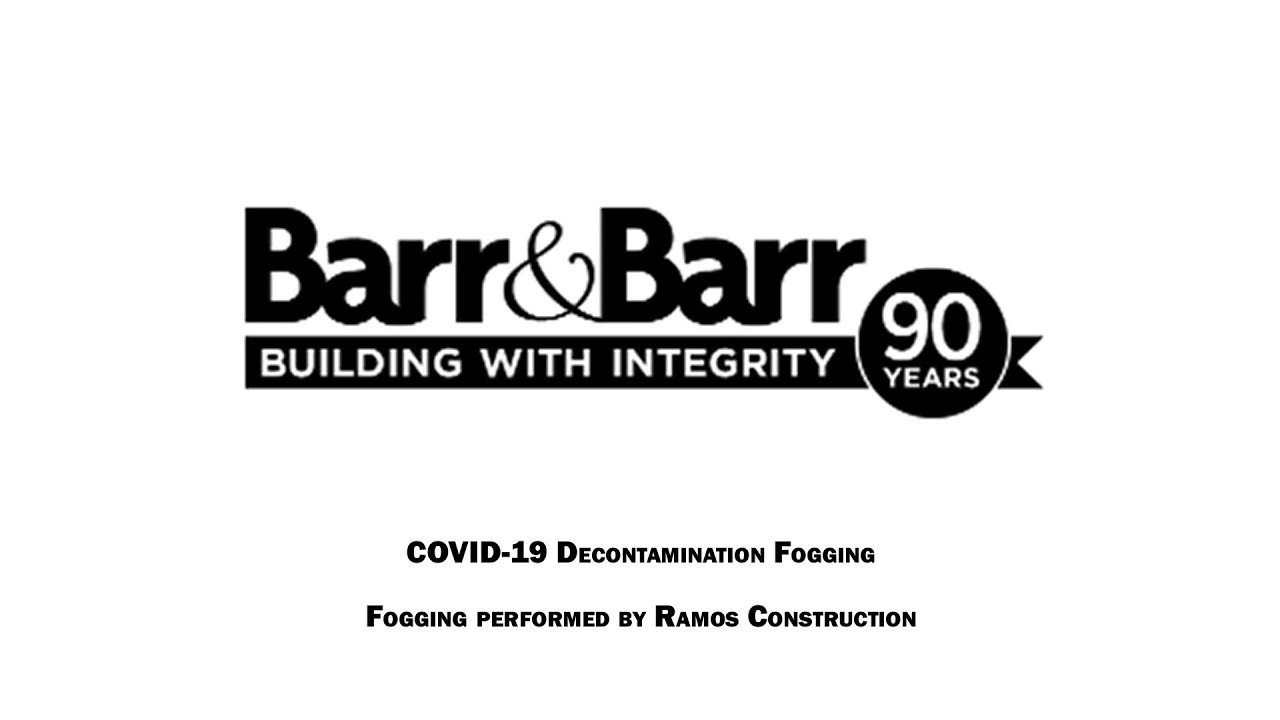 Disinfected: Barr & Barr