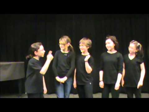 ABC teen improv scene