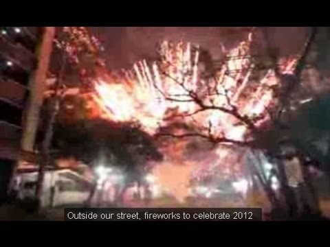 Best Fireworks Display - Happy New Year 2012 Philippines!