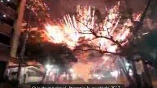 Best Fireworks Display - Happy New Year 2014 Philippines!