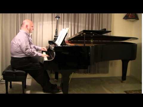 """Stephen Fierros plays """"Modinha Russo-Brasileira"""" by Nicolas Slonimsky"""