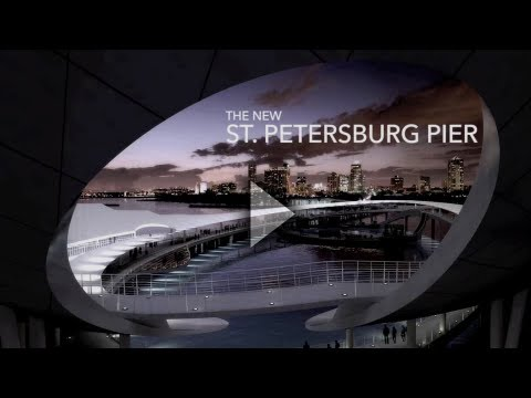 "New St.Pete Pier ""The Lens"" Animated Architectural Rendering"
