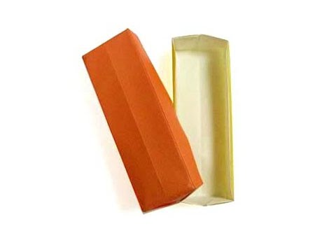 Cách gấp, xếp hộp giấy dài gói quà tặng origami - Video hướng dẫn