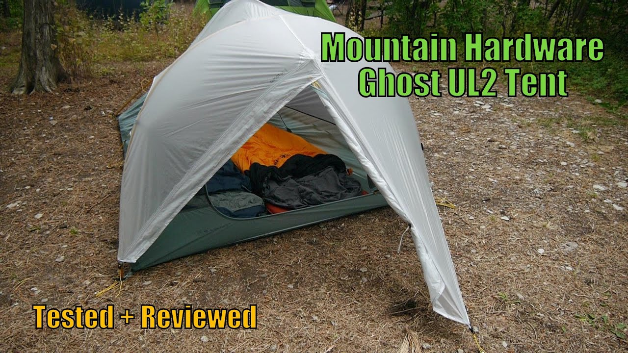 & Mountain Hardwear Ghost UL2 Tent Tested + Reviewed - YouTube