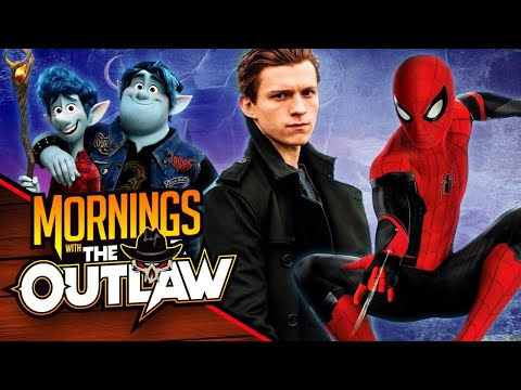Tom Holland Day! Spider-Man, Uncharted, and Onward First Reactions- Mornings with The Outlaw