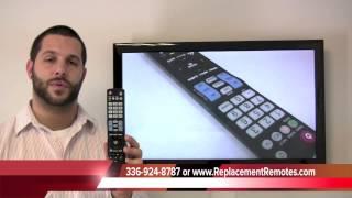 LG AKB72914001 Remote Control PN: AKB72914001 - ReplacementRemotes.com