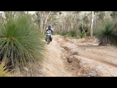 Exploring on the KLR in the East Mundaring forest and York - Western Australia