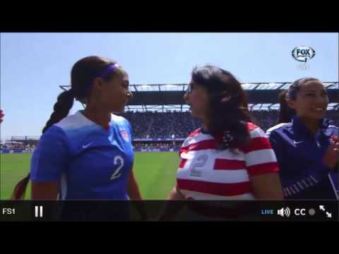 USWNT Mother's Day Player Introductions