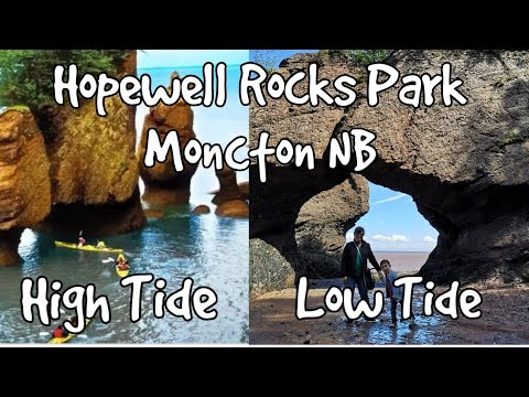 Hopewell Rocks Park Moncton NB / Chocolate River
