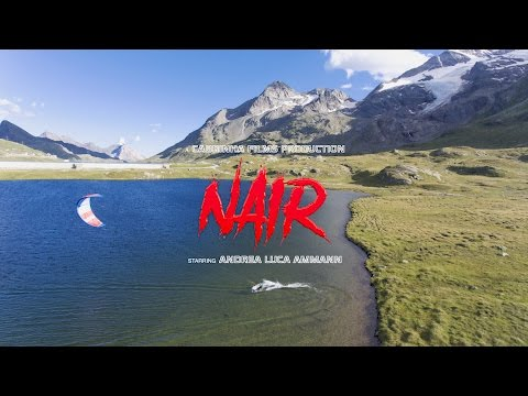 NAIR - kiteboarding in Switzerland (4k)