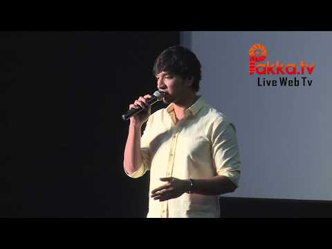 Actor Gautham Karthik Press Meet | Rangoon Movie