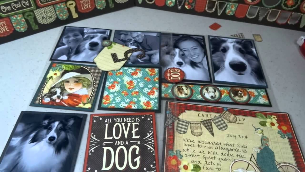 Scrapbook ideas for dogs - Speedy Scrapbooking With Pocket Pages Graphic 45