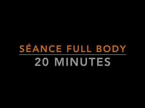 Entrainement complet sans matériel 20 minutes