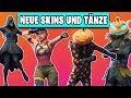Alle NEUEN HALLOWEEN Skins und Tänze INGAME 👻🎃 | Fortnite Season 6 Deutsch German